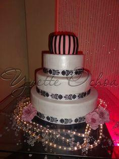 Pastel XV años en Mexicali F#1.321 / Sweet 16 cake