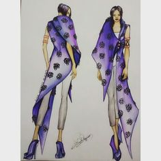 #illustration #fashion #drawing #artist #tasarım #stilist #skechbook #arrival #geliş #moda #drawing #dress