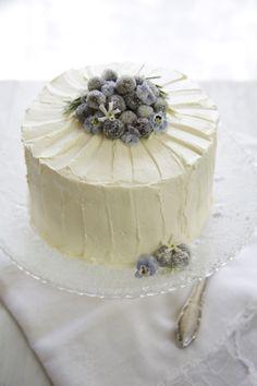 Divino Macaron: Pastel de Yogurt y Vainilla
