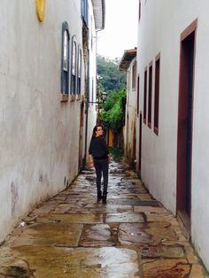 Little lanes of Ouro Preto, Brasil