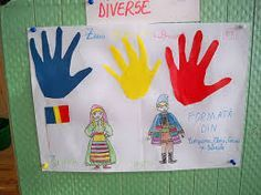 Imagine similară 1 Decembrie, Romania, Painted Rocks, Art Projects, Crafts For Kids, Triangle, School, Day, Traditional