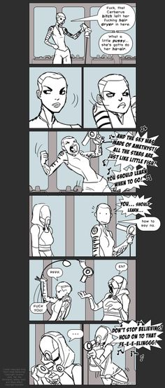 Mass Effect Bathroom Karaoke