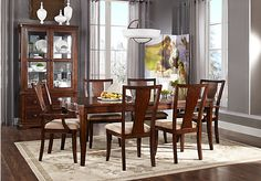 picture of Tillery Parc   7 Pc Dining Room  from Dining Room Sets Furniture