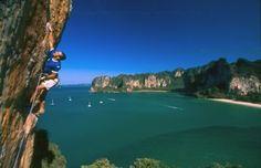 Rock climbing (Krabi, Thailand) #HipmunkBL