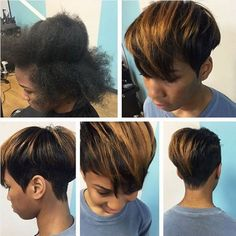 20 cool hairstyles for African American women - hairstyles 2018 - Afro Hair Cute Braided Hairstyles, Cute Hairstyles For Short Hair, Popular Hairstyles, African Hairstyles, Pretty Hairstyles, Hairstyles 2018, Black Hairstyles, Afro Hairstyles, Female Hairstyles