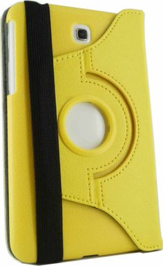 """Rotating PU Leather Case Cover for Samsung Galaxy Tab 3 7 0 7"""" T210 P3200 P3210 