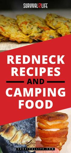 Camping food and redneck recipes for off the grid living. From Southern dishes to traditional hillbilly recipes, this list has got you covered. Best Camping Meals, Diy Camping, Camping With Kids, Family Camping, Tent Camping, Camping Hacks, Camping Ideas, Camping Recipes, Outdoor Camping