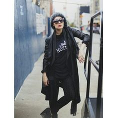 Ascia_AKF ll this traveling has me feeling like a hot mess, so I found this shot by @langstonhues appropriate because of my awesome Unif shirt #HybridsInNY #HybridsAreBackInKuwait #IWantToSleepForAWeek