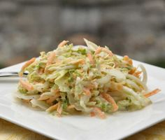 I love a freshly harvested cabbage for coleslaw. Although napa cabbage is a bit unconventional for slaw, I decided to give it a try since. Bbq Beef Sandwiches, Bbq Sandwich, Slaw Recipes, Healthy Recipes, Napa Cabbage Slaw, Bbq Salads, Vegetable Salad, Coleslaw, Thanksgiving Recipes