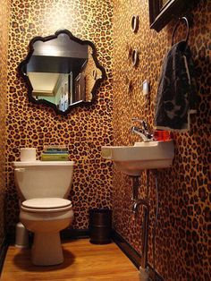 Zoo Bathroom Scheme Animal Print Accessories Modern Contemporary Furniture And Trends On Vithouse C