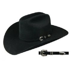 eb642a2cbdb Stetson® Cowboy Hat 6X Skyline Black 4