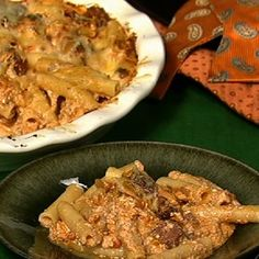 Mario Batali's Baked Ziti With Ricotta And Ham - the chew - ABC.com