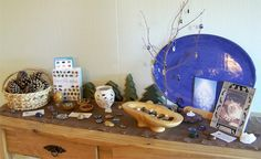 """Gemstone Nature Table from Playful Learning ("""",)"""