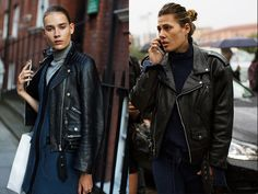 If You're Thinking About…A Leather Jacket «  The Sartorialist