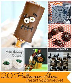 20 Halloween Ideas at iheartnaptime.net
