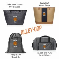 Does anyone in your family play basketball?    Personalize their favorite bag with the new basketball icon.   Www.mythirtyone.com/jenniferlapati