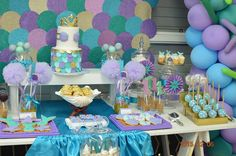 Little Wish Parties   Under The Sea First Birthday   https://littlewishparties.com