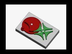 Мальтийский механизм анимация 001 - YouTube