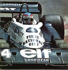 Patrick Depailler (Tyrrell P 34) Grand Prix de Monaco 1977- alpha auto c.1976