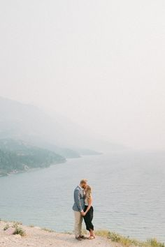 Waterton engagement session from Waterton wedding photographer, Heirdrich Photography.