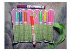 Valentine Crayon Roll Applique Machine by NewfoundApplique on Etsy, $2.99