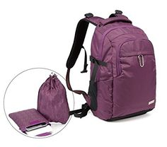 KOROVO 'Steel Amour B' Waterproof Multipurpose Antitheft Backpack for All Outdoors >>> New and awesome product awaits you, Read it now (This is an affiliate link and I receive a commission for the sales) : Travel Backpack Laptop Backpack, Travel Backpack, Sling Backpack, Outdoors, Backpacks, Steel, Purple, Link, Awesome