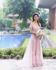 Christian Wedding Dress, Christian Bride, Indian Gowns Dresses, Bridal Dresses, Bridesmaid Dresses, Going Away Dress, Pastel Gown, Srilankan Wedding, Western Gown