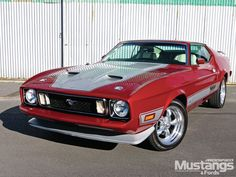 1973 Ford Mustang   1973 Ford Mustang Mach 1 Front Three Quarter View Photo 3