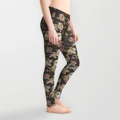 Botanic Wars leggings - Society6