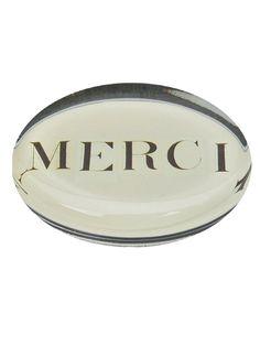 merci paperweight