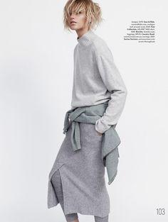 LIMEROOM layered | Louise Mikkelsen By Stephen Ward For Elle Australia February 2015