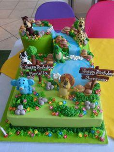Raa Raa Cake....wow!