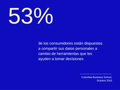 ¿Por qué los #consumidores estarán dispuestos a compartir su #data personal en el 2016?