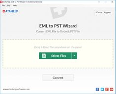 EML to PST Converter is an effective utility to perform conversion of EML files to Outlook PST format. Importing process of EML to Outlook PST is very easy. Click to read the full post https://www.tech-wonders.com/2017/05/datahelp-eml-to-pst-converter.html
