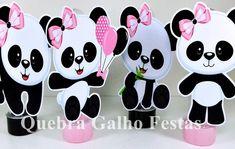 Panda Birthday Party, Panda Party, Bear Party, Birthday Parties, Bolo Panda, Panda Decorations, Ideas Para Fiestas, Panda Bear, Birthday Party Decorations