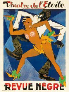 REVUE NEGRE = Josephine Baker