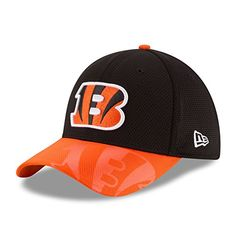 04e6f6df3 Men s New Era 2016 NFL Sideline 3930 Bengals Flex Fit Hat... https
