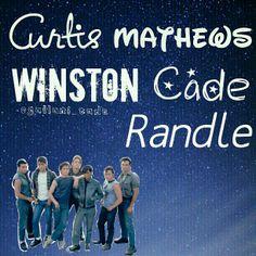 Darry, Sodapop, and Ponyboy Curtis  Two-Bit Matthews Dally (Dallas) Winston  Johnny Cade  Steve Randle