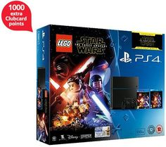 1000 Clubcard points with LEGO Star Wars PlayStation 4 bundle (including The Force Awakens Blu-ray) Finally another offer to get excited about! It was about time for Tesco to give us a break from washing machines, cookers and co and offer extra Clubc...