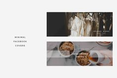 Minimal Facebook Covers Vol 1 @creativework247