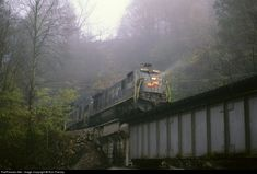 RailPictures.Net Photo: SBD 7005 Seaboard System GE C30-7 at Big Stone Gap, Virginia by Ron Flanary