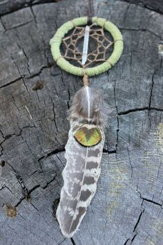 Dreamcatcher Necklace/Car by LunaSageDesigns on Etsy