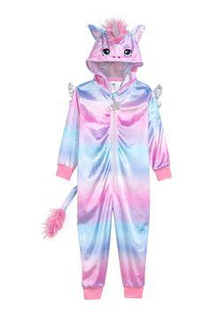H & M - Unicorn Costume - Pink/unicorn - Kids H&m Unicorn, Unicorn Outfit, Unicorn Kids, Cute Unicorn, Rainbow Unicorn, Unicorn Birthday, Unicorn Party, Unicorn Clothes, Unicorn Onesie Kids