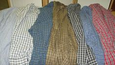 seven shirts+7 steps=one thrifty quilt-pin now read later...this is a really clear tutorial...love it !!!.