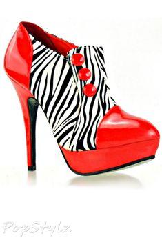 Show Story FZ00972 High Heel Platform Ankle Boots