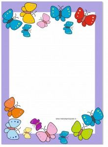 regulile clasei - regulile grupei template Frame Border Design, Boarder Designs, Page Borders Design, School Board Decoration, School Decorations, Butterfly Frame, Butterfly Crafts, Art Drawings For Kids, Drawing For Kids