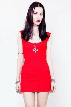 Cut it Out Dress - XS/S/M