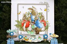 """Peter Rabbit Tea Party"""