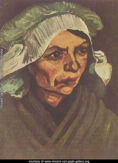 Fermière 1884 - Vincent Van Gogh Reproduction