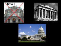 en esa época no se utilizaba el barroco  para construir sus edificios